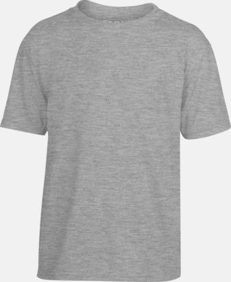 Sport Grey (Heather) Smarta funktionskläder för barn - med tryck