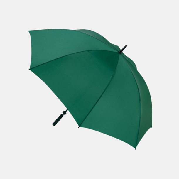 Mörkgrön Golfparaplyer med eget reklamtryck