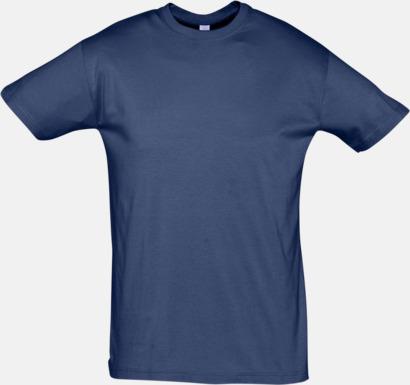 Denim Billiga herr t-shirts i rmånga färger med reklamtryck