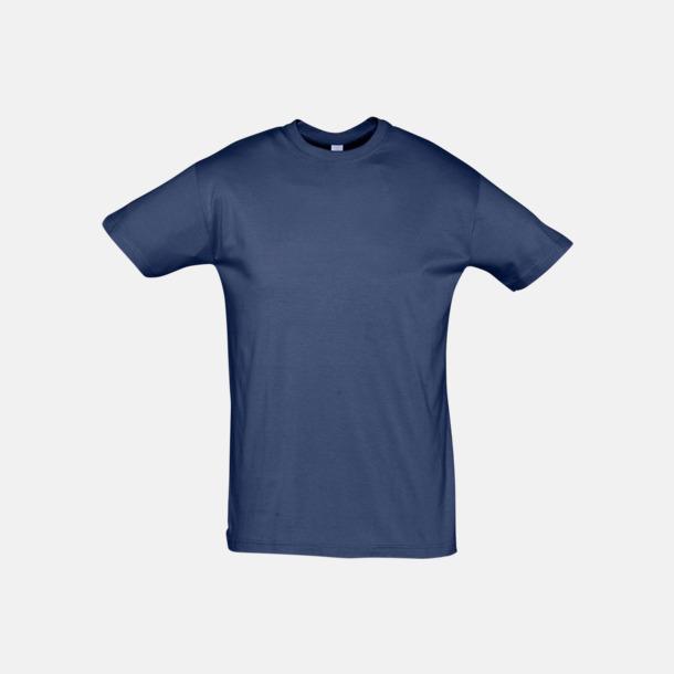 Denim Billiga unisex t-shirts i många färger med reklamtryck