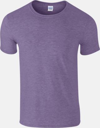 Heather Purple Billiga t-shirts med tryck