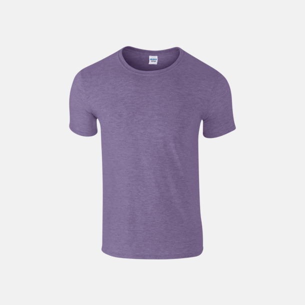 Heather Purple Billiga t-shirts med tryck