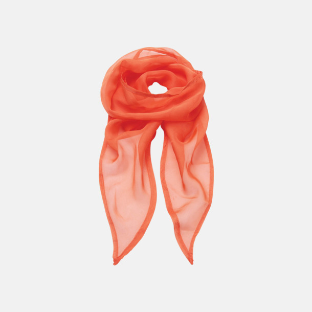 Orange Tunna accessoarscarfs i många färger