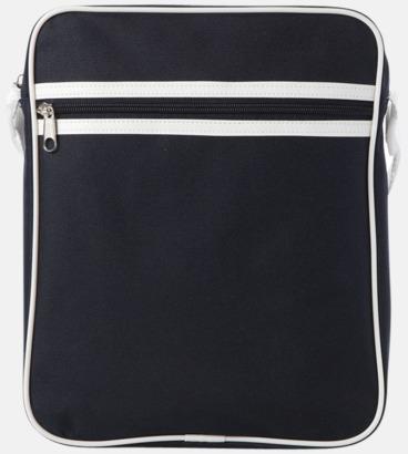 Marinblå Liten väska med retrokänsla