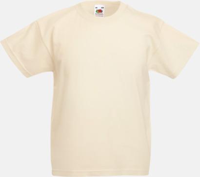 Natural T-shirt barn - Valueweigth barn t-shirt
