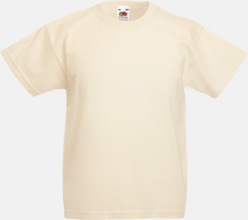 Natur T-shirt barn - Valueweigth barn t-shirt