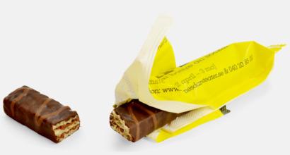 Chokladrån i flow-pack