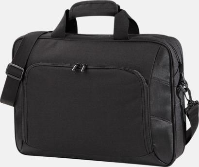 Svart Exklusiva laptopväskor med reklamtryck