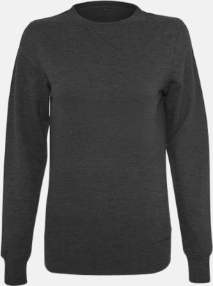 Charcoal heather (dam) Kvalitetströjor i herr- och dammodell med reklamtryck