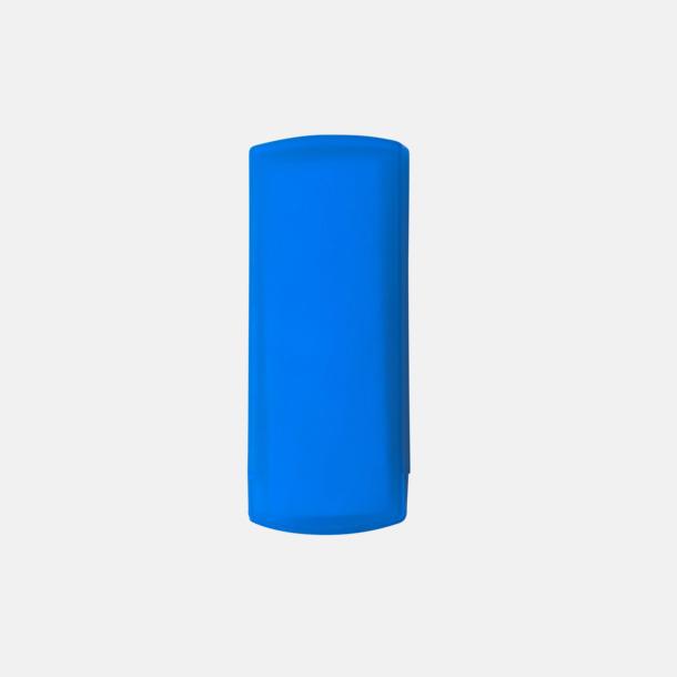 Blå Plåsterask med reklamtryck