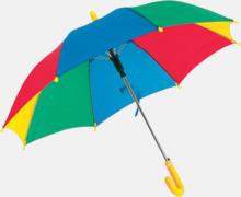 Mindre paraplyer för barn - med tryck