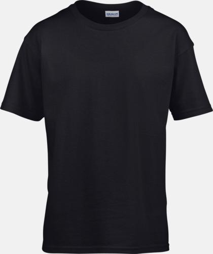 Svart Billiga t-shirts med reklamtryck