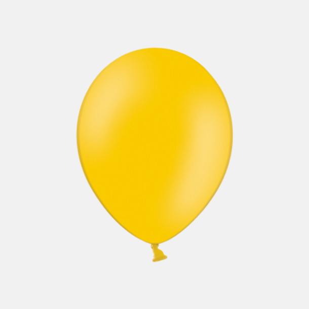 Ocher 015 (PMS 136) Ballonger med tryck