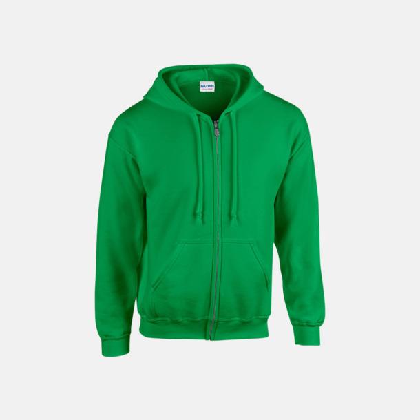 Irish Green Heavy Blend-tröja i herrmodell med reklamtryck