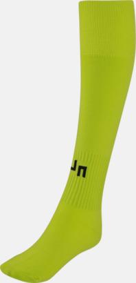 Acid Yellow Fotbollsstrumpor för föreningar och företag