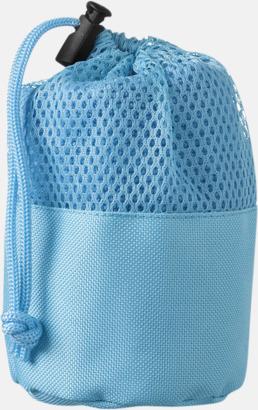 Blå Handdukar för rengöring av bilen - med reklamtryck