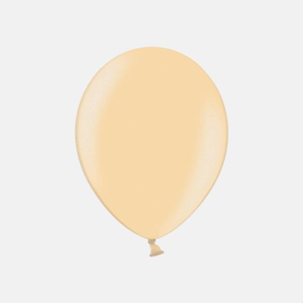 075 Peach (PMS 1345 U) Ballonger i unika färger med eget tryck