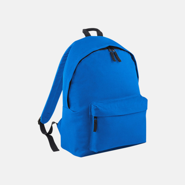 Sapphire Blue Klassisk ryggsäck i 2 storlekar med eget tryck