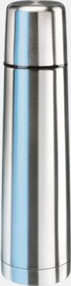 Stålgrå (50 cl) Köldtålig termos med egen gravyr
