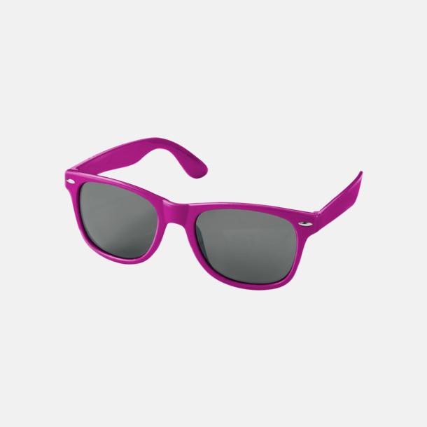 Rosa (PMS 210C) Trendiga solglasögon med tryck