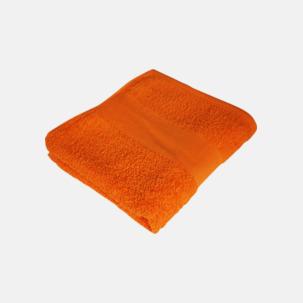 Prisvärda handdukar i flera storlekar med brodyr
