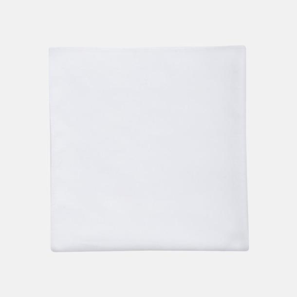 Vit Sportiga microfiberhanddukar i 3 handdukar med reklambrodyr