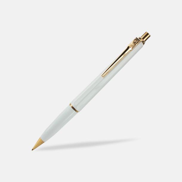 Vit (stiftpenna) Ballografpennor med eget tryck