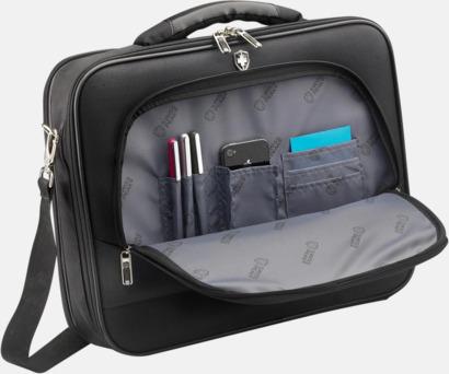 PVC-fria laptopväskor från Swiss Peak med reklamtryck
