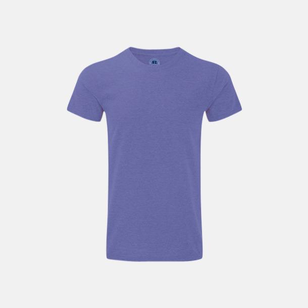 Purple Marl (herr) Färgstarka t-shirts i herr- och dammodell med reklamtryck