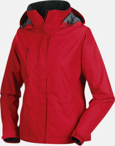 Classic Red (dam) Kvalitetsjackor i herr- & dammodell med reklamtryck