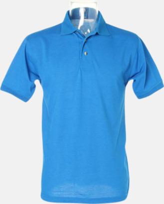 Electric Blue Arbetspikétröjor i många färger - med reklambrodyr