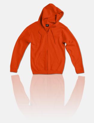 Bright Orange Fina zoodies för herr, dam & barn med reklamtryck