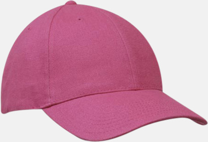 Rosa klassiska basebollkepsar med reklambrodyr