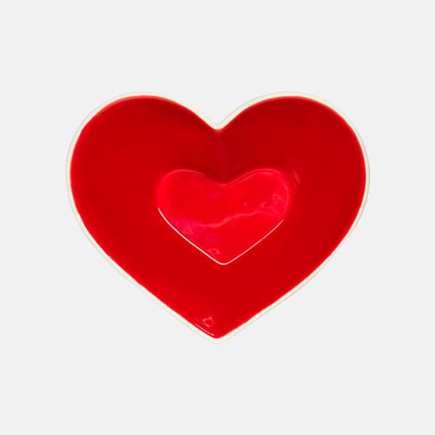 Hjärta  Beställ serveringsskålar med egen logga hos oss på Medtryck.