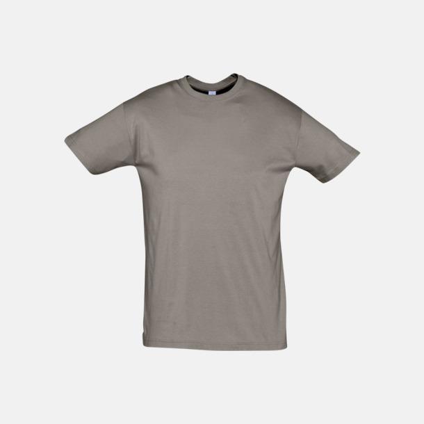 Zinc (solid) Billiga unisex t-shirts i många färger med reklamtryck