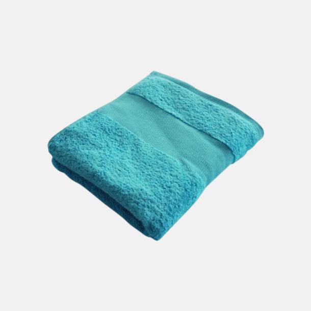 Blue Caracao Billiga handdukshandskar med brodyr