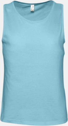 Atoll Blue Billiga linnen med tryck av egen logo