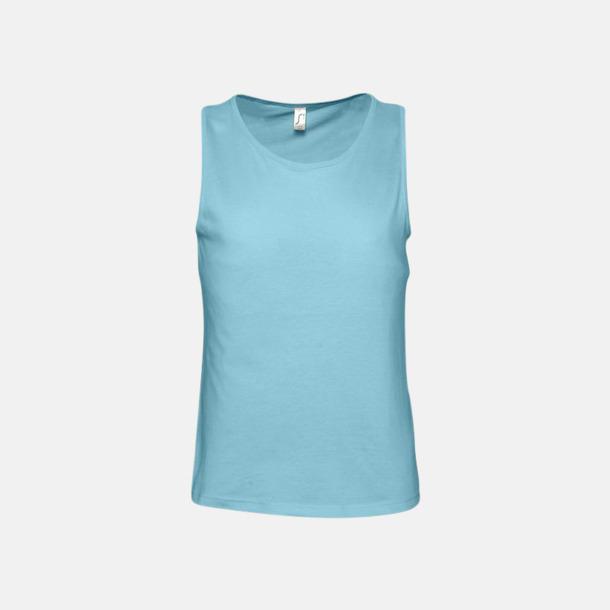 Atoll Blue (herr) Billiga linnen med tryck av egen logo