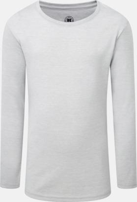 Silver Marl (flicka) Färgstarka långärms t-shirts i herr-, dam och barnmodell