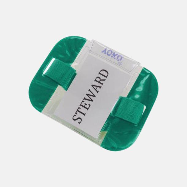 Paramedic Green Vattentäta ID-armband med reflex