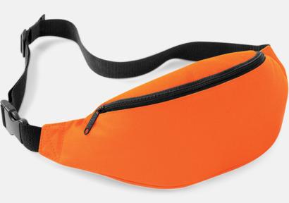 Orange Midjeväska med reklamtryck