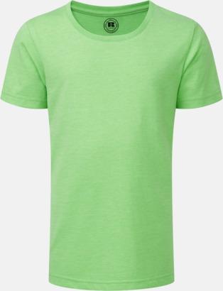 Green Marl (flicka) Barn t-shirts i u- och v-hals med reklamtryck