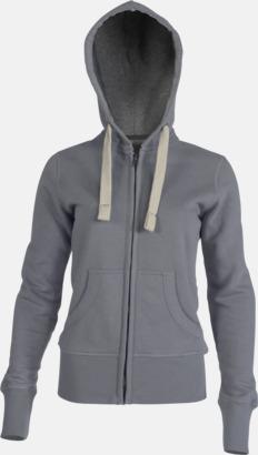 Vintage Grey (dam) Kvalitetströjor i herr- & dammodell med reklamtryck