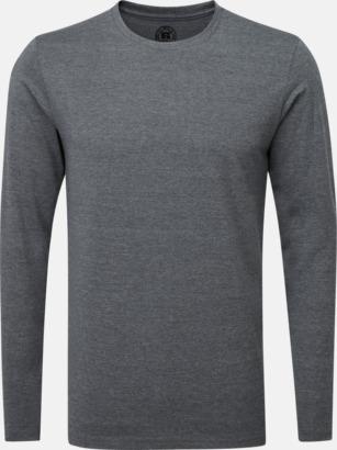 Grey Marl (herr) Färgstarka långärms t-shirts i herr-, dam och barnmodell