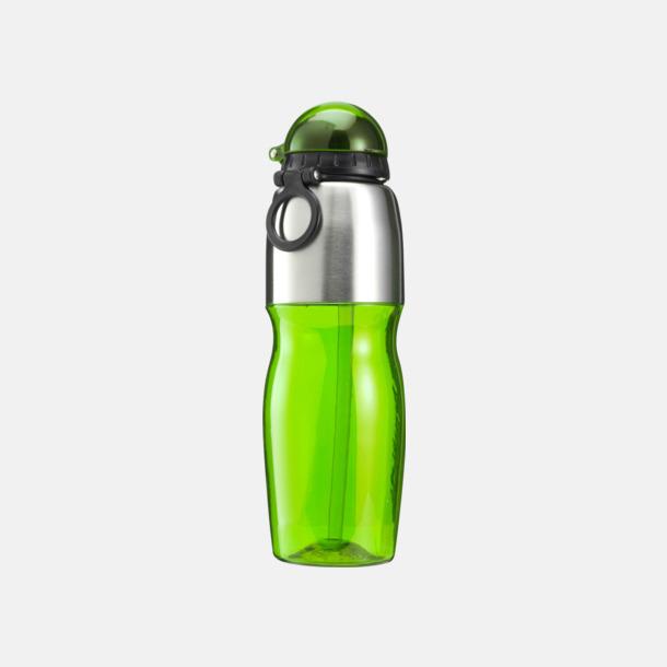 Limegrön Multipraktiska vattenflaskor med tryck