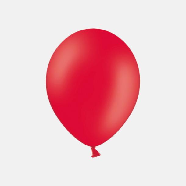 001 Red pms186 Reklamballonger med fototryck