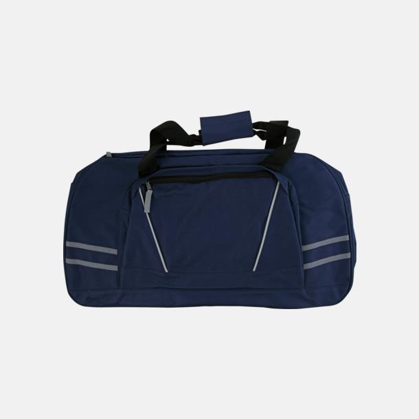 Sportbags med reflexremsor - med tryck