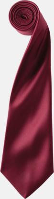 Burgundy Slipsar i supermånga färger