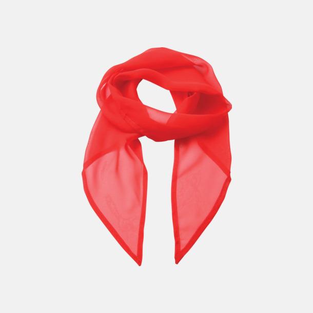 Strawberry Red Tunna accessoarscarfs i många färger