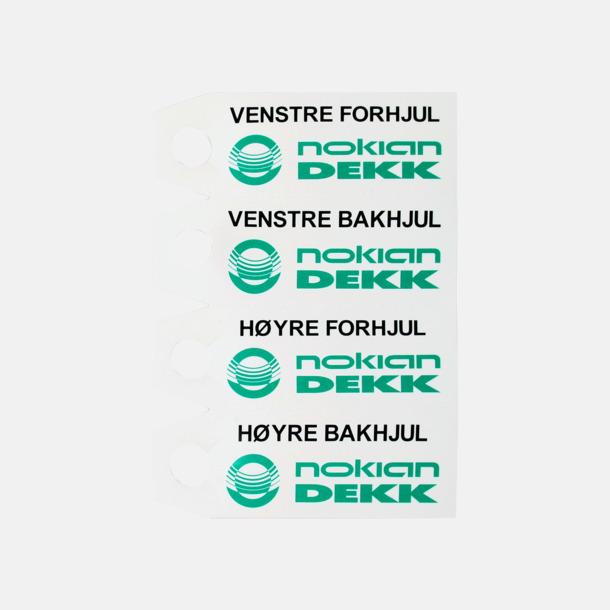 Inkl. tryck (PMS) Däckmarkör med reklamtryck